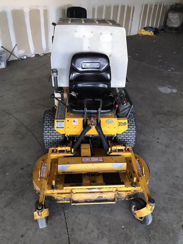 Walker Mower 2005 Ms20hp ghs zero turn tractor only) with optional 42 in mulch tilt up deck, for 1950.00. Only 720 hrs.nearly new Condition No deliv