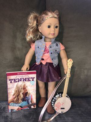 American girl doll tenney with book and banjo for Sale in Spanaway, WA