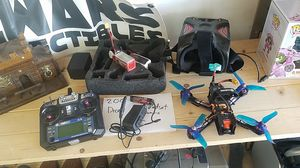 carbon fiber drone with headset for Sale in Henderson, NV