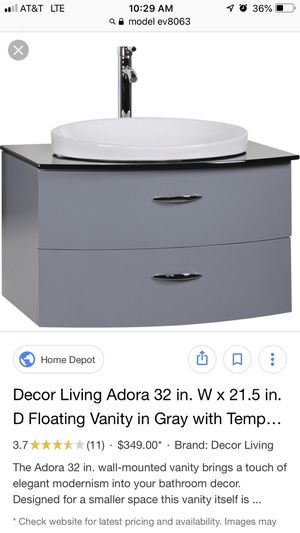 Adora Floating Vanity for Sale in Aurora, CO