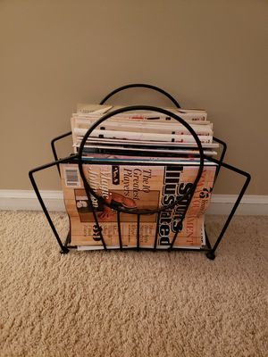 Wrought iron magazine rack for Sale in Lombard, IL
