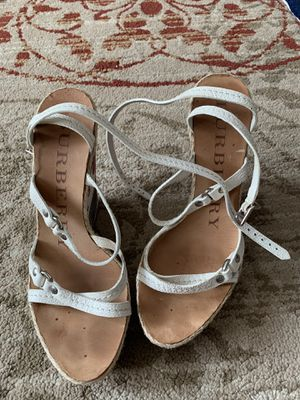 Burberry wedges size 38 for Sale in Mount Prospect, IL