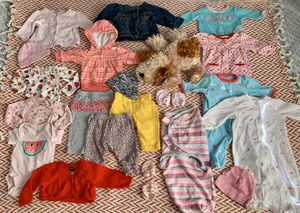 Baby girl(0-3 months)clothes & Toy! for Sale in Queens, NY