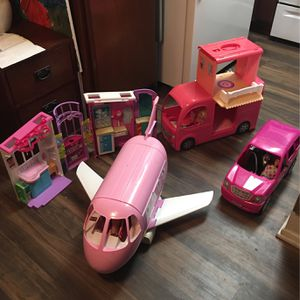 Barbie Plane, Bus, SUV Vehicle & Vet Clinic! for Sale in San Diego, CA