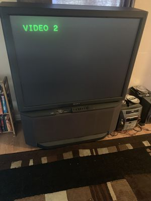 Old tv just trying to get rid of it. Still works fine! for Sale in Jacksonville, FL