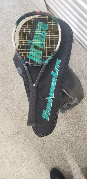 Tennis Racket. Used with cover for Sale in Miami, FL