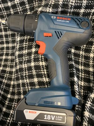 Bosch drill driver for Sale in Springfield, OR