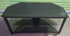 "ONLY FOR TODAY $$$50$$$ BLACK TV STAND WITH GLASS,GREAT CONDITION (((44"" LONG X 21"" HIGH X 20"" DEEP))) $$$50$$$ for Sale in Los Angeles, CA"
