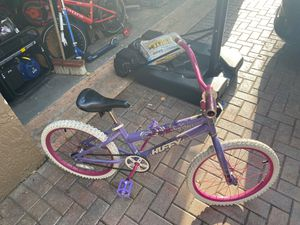 Huffy girls bike all inclusive works great! (52/406) 20/1.95 for Sale in Coconut Creek, FL