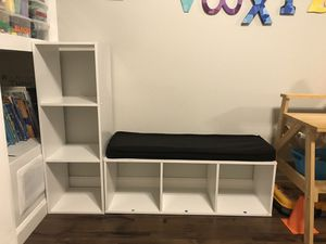 Cube Shelves / Reading Bench for Sale in Black Diamond, WA