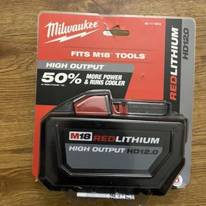 New Milwaukee M18 HD 12.0Ah Battery for Sale in Chicago, IL