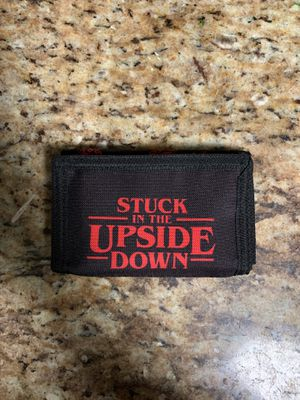 Stranger Things -stuck in the upside down wallet for Sale in San Antonio, TX