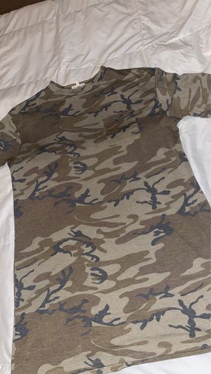 Wet Seal Camo T-shirt Dress for Sale in Manvel, TX