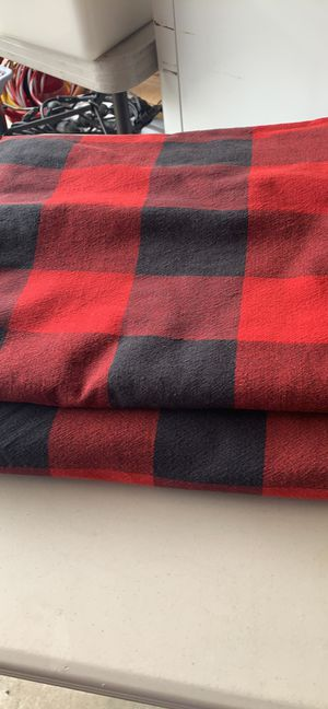 Set of 2 buffalo plaid tablecloths 54x120 for Sale in Vancouver, WA