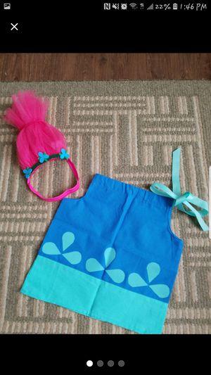 Poppy trolls dress/ costume for Sale in Houston, TX