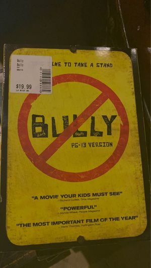 Bully DVD, new for Sale in Plainfield, IL