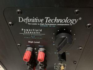 Active subwoofer Definitive technology for Sale in Naples, FL