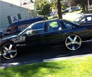 1996 Chevy Impala black for sale for Sale in Dallas, TX