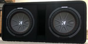 "Kicker CompR 10"" Sub Box for Sale in Fairfax, VA"