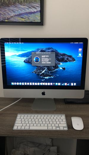 21.5 inch iMac late 2013 with wireless keyboard and mouse for Sale in Fort Myers, FL