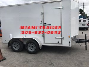 6 x 12 Tandem Axle Enclosed Trailer for Sale in Doral, FL