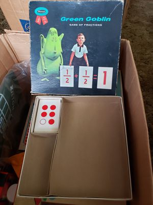 Green goblin game of fractions for Sale in Stow, OH
