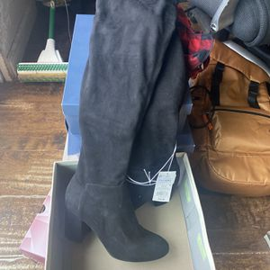 Black Knee High Boots for Sale in Arlington, TX
