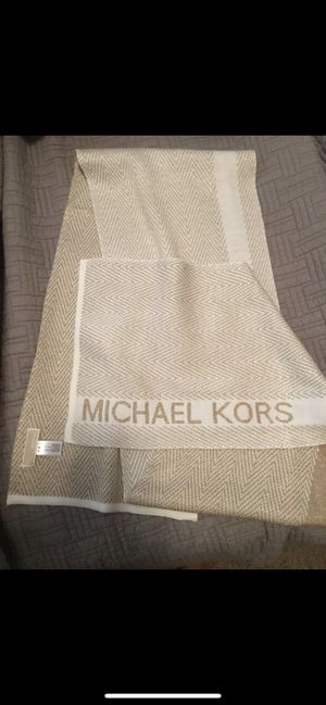 Michael Kors Gold Scarf for Sale in Houston, TX