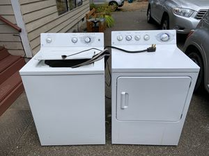 GE was her and dryer for Sale in Graham, WA