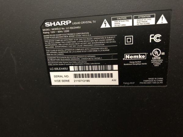 Flatscreen 50 Inch TV