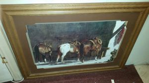46x34 nice matted picture for Sale in Overgaard, AZ