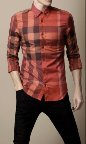 Burberry Brit Fred short sleeve shirt szL for Sale in Dallas, TX