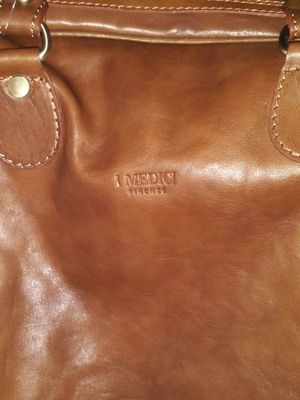 """I Medici 21"""" Leather Carry On """"Vintage"""" Duffle Bag for Sale in San Jose, CA"""