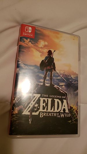 Zelda Breath of the wild for Sale in Severn, MD