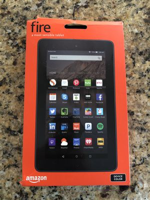 Never used Amazon Fire tablet for Sale in West Hollywood, CA