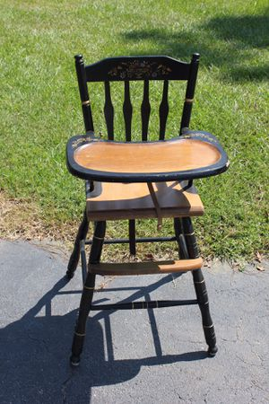 Antique baby's high chair for Sale in Portland, OR