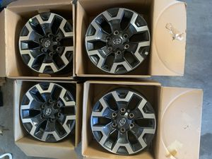 """NO OFFERS! Tacoma TRD 4x4 16"""" wheels for Sale in Sylmar, CA"""