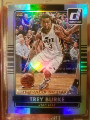 Trey Burke 1 of 1 refractor Utah Jazz for Sale in Salt Lake City, UT