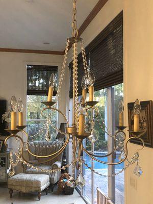 Light Fixtures- 4 light fixtures for sale for Sale in Weston, FL