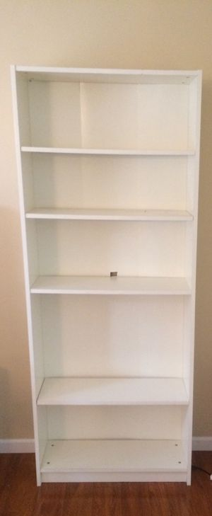 White bookcase for Sale in Bethlehem, PA