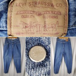 Vintage Womens Levi's 573 Pleat Hi-Waist Jeans for Sale in Ocala,  FL