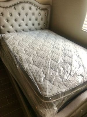 Brand New Queen Size Pillow Top Mattress with Free Box Spring Included for Sale in Tempe, AZ