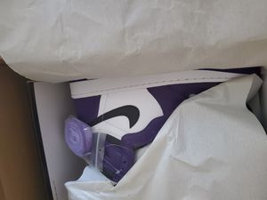 Air jordan 1 high court purple size 8.5 for Sale in York, PA