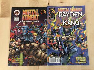 Mortal combat vintage collectible comics for Sale in Los Angeles, CA