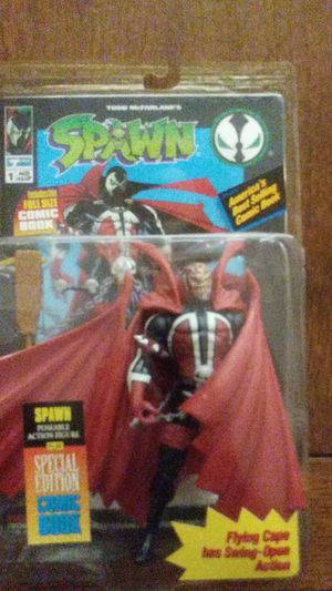1994 Spawn Action Figure N Comic Book for Sale in Bradenton, FL