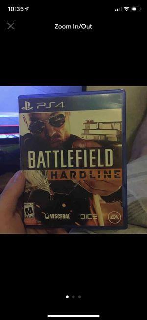 Battlefield Hardline PS4 for Sale in Chandler, AZ