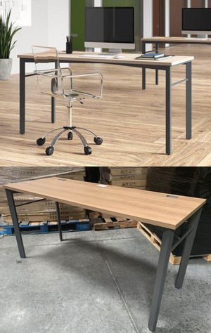Brand new in box Hon desk modern simple design great quality computer office desk table 60x24x30 inches for Sale in Whittier, CA