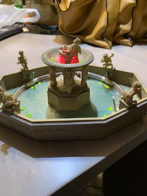 Christmas Village Fountain for Sale in Springfield, PA