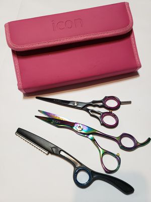 Icon Shears Hair Scissors and Shaper with case for Sale in Davenport, IA