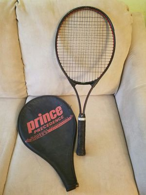 Prince Precedence Widebody Tennis Racket #5 4 5/8 w/ cover for Sale in Chicago, IL